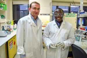 Deus and Darren Lab